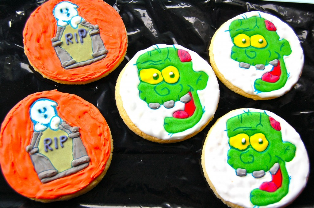 Final two designs of cookies.