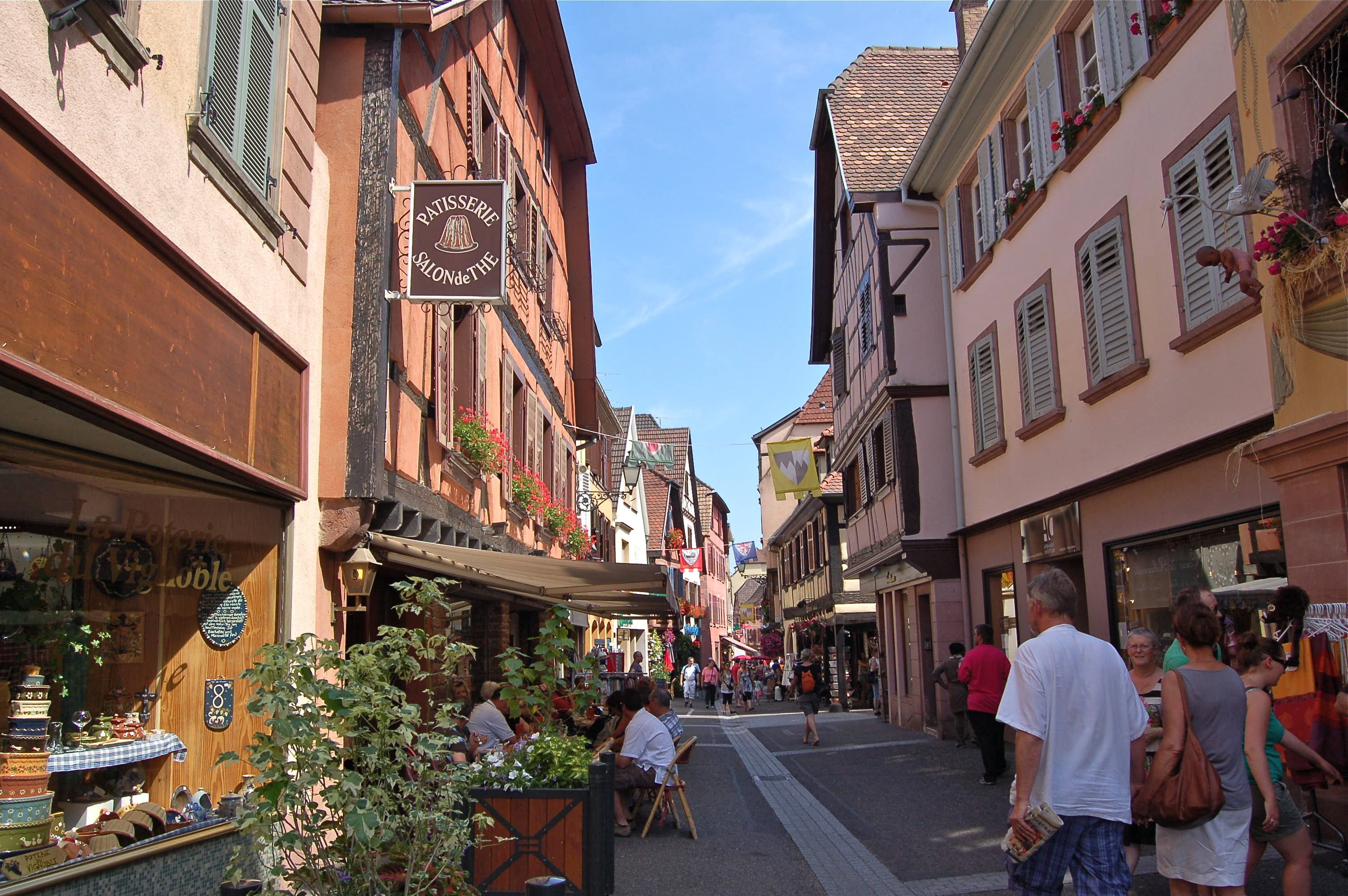 European Travel – The Village Of Riquewihr And Ribeauville