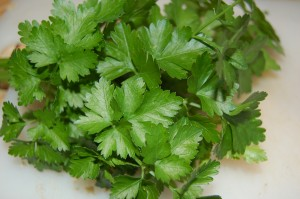 Parsley From The Garden