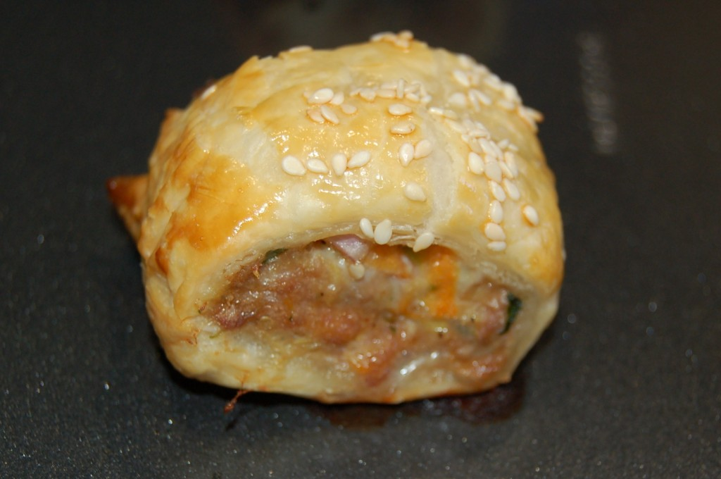 Single Baked Sausage Roll