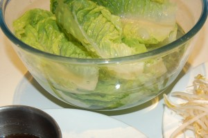 Lettuce In Ice Water