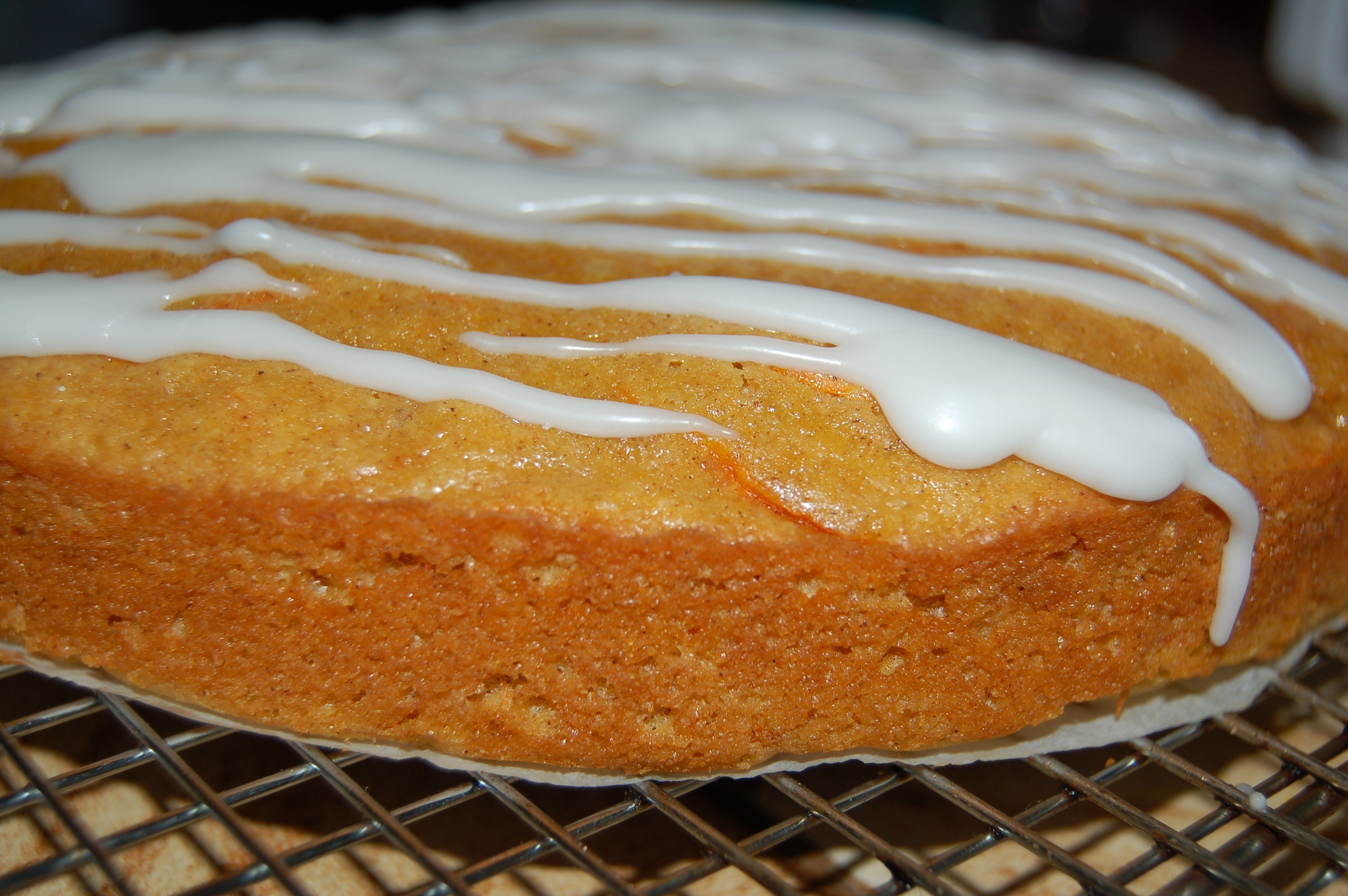 Delightful Lighter Version Carrot Cake