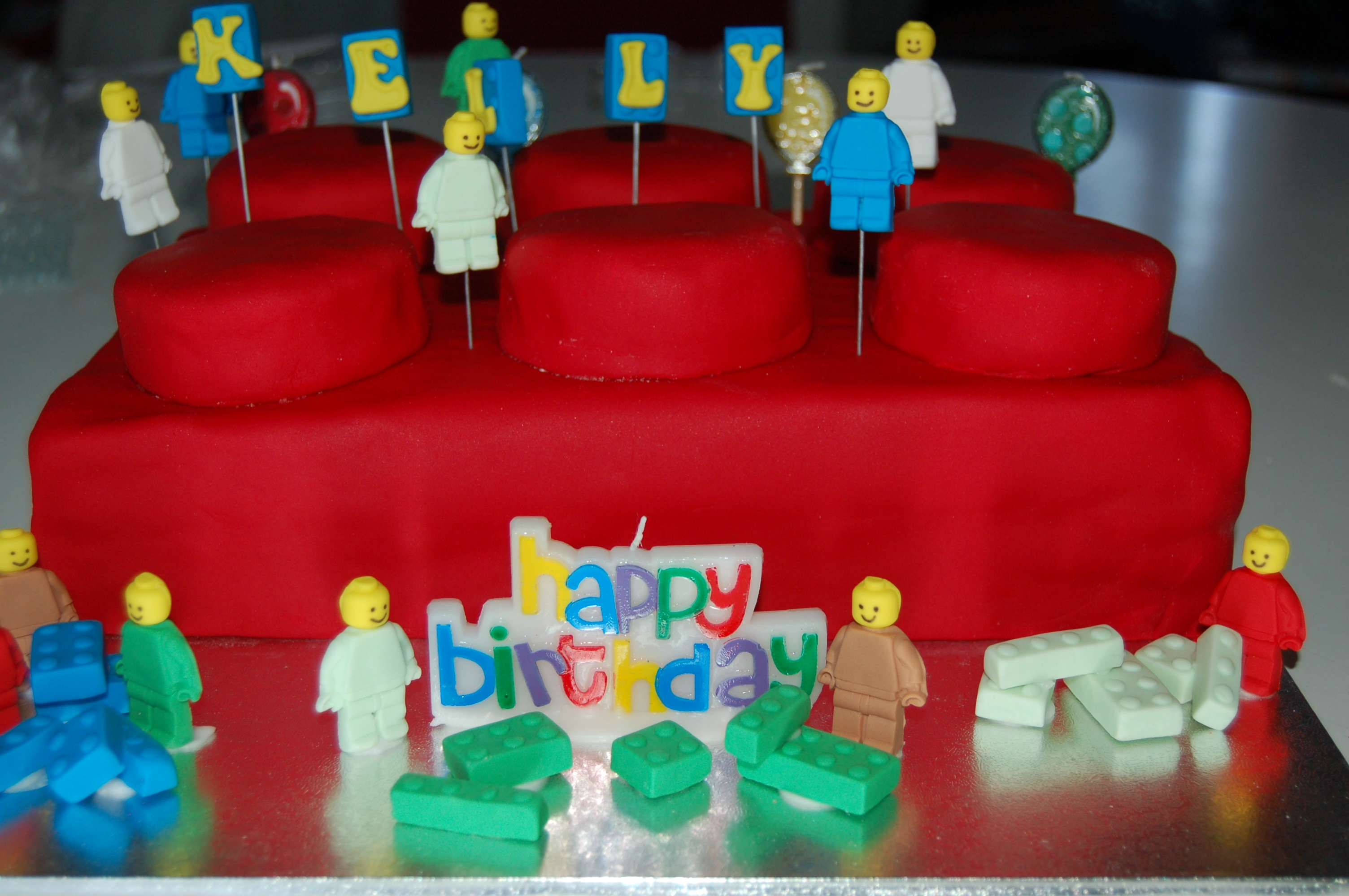 Lego Birthday Cake – Best Butter Cake Recipe Ever