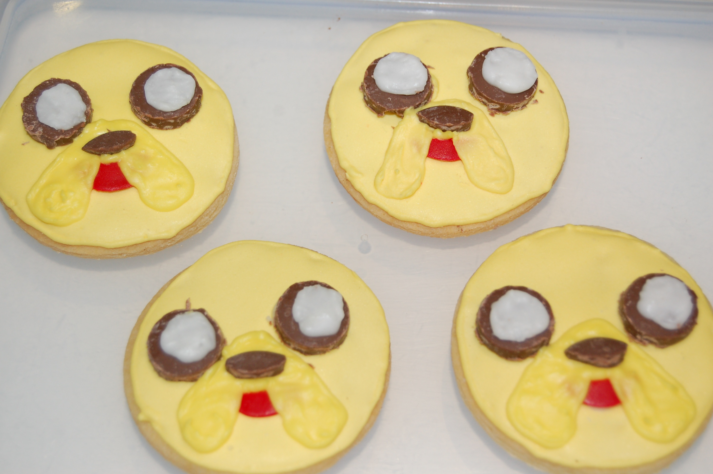 Jake The Dog Cookies From Adventure Time