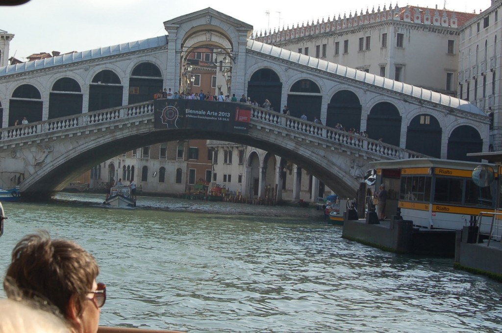 Rialto Bridge Main Canal