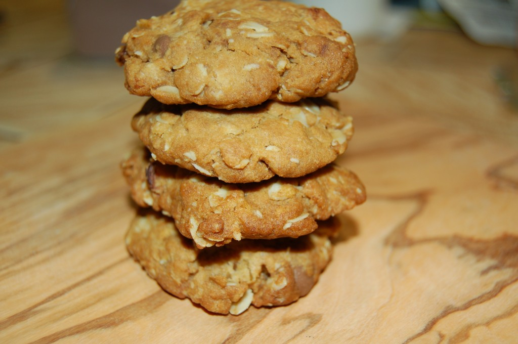 Apricot And Sultana Oat Cookies Ready To Enjoy