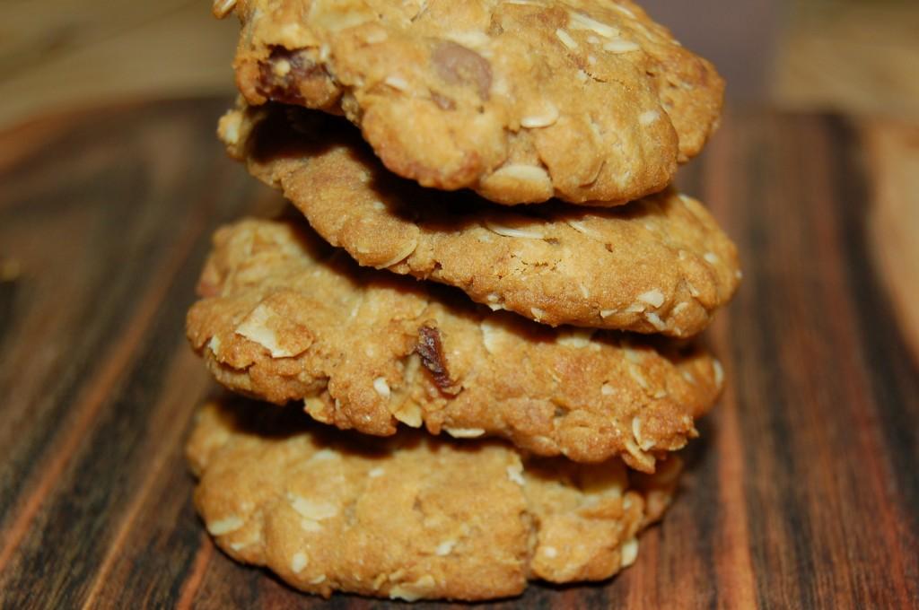 Golden Crunchy Cookies