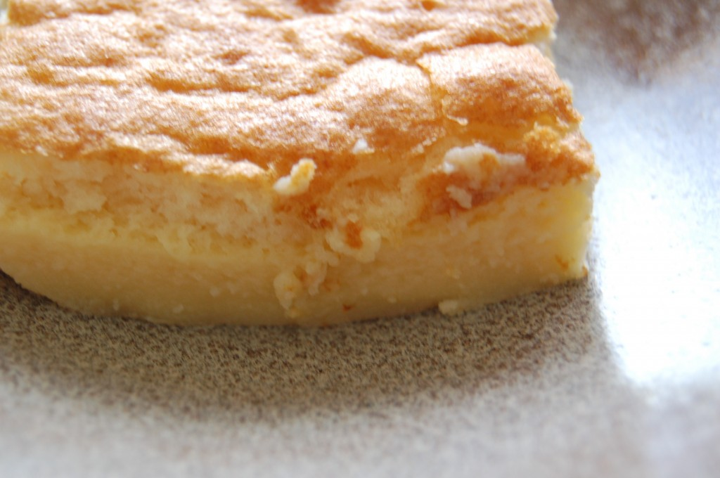 Layers of custard cake