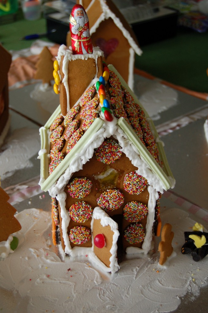 Kelly Gingerbread House