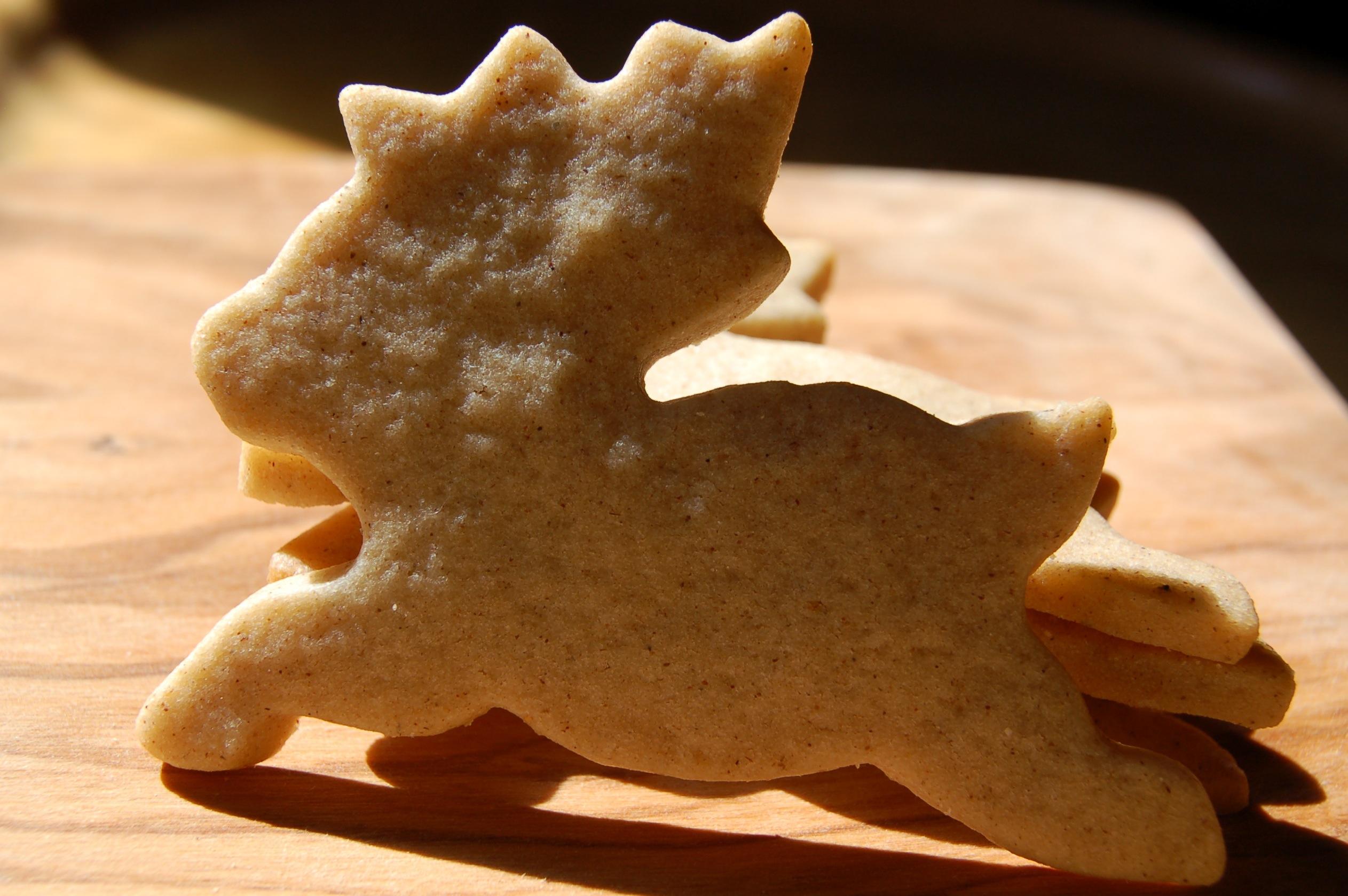 Christmas Reindeer Biscuits