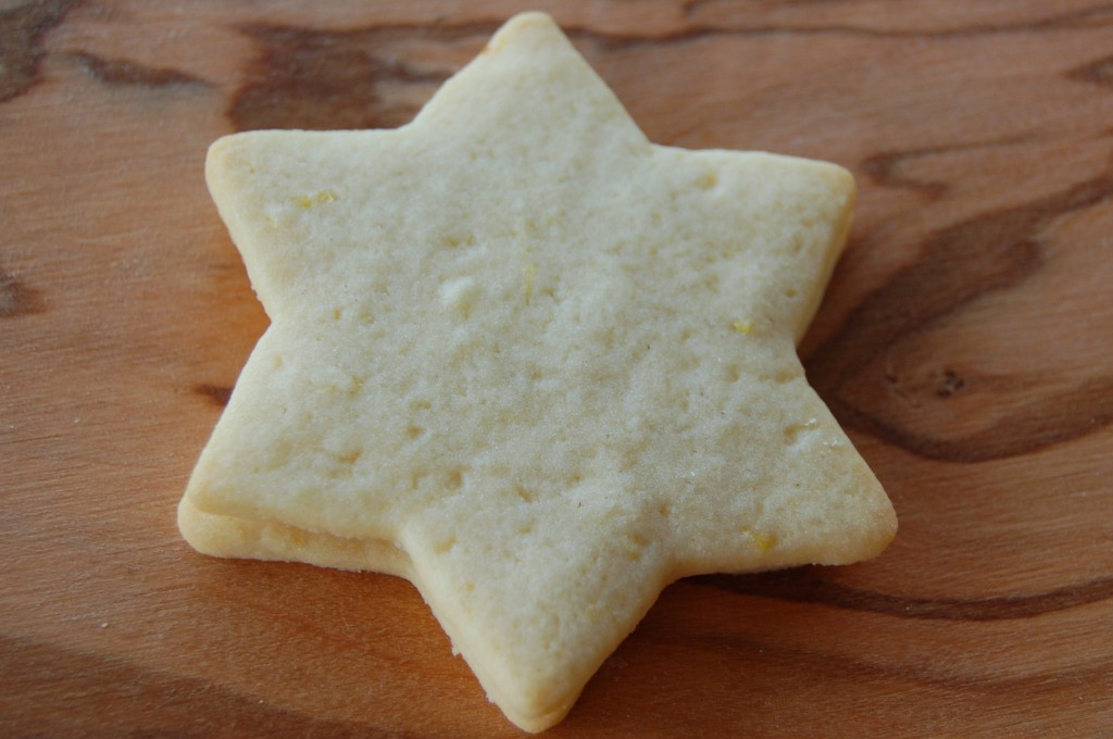 Plain Star Biscuit