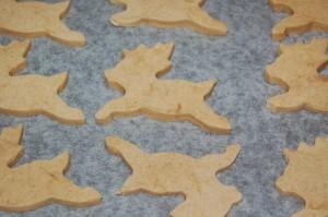Reindeer Cookie Ready To Bake