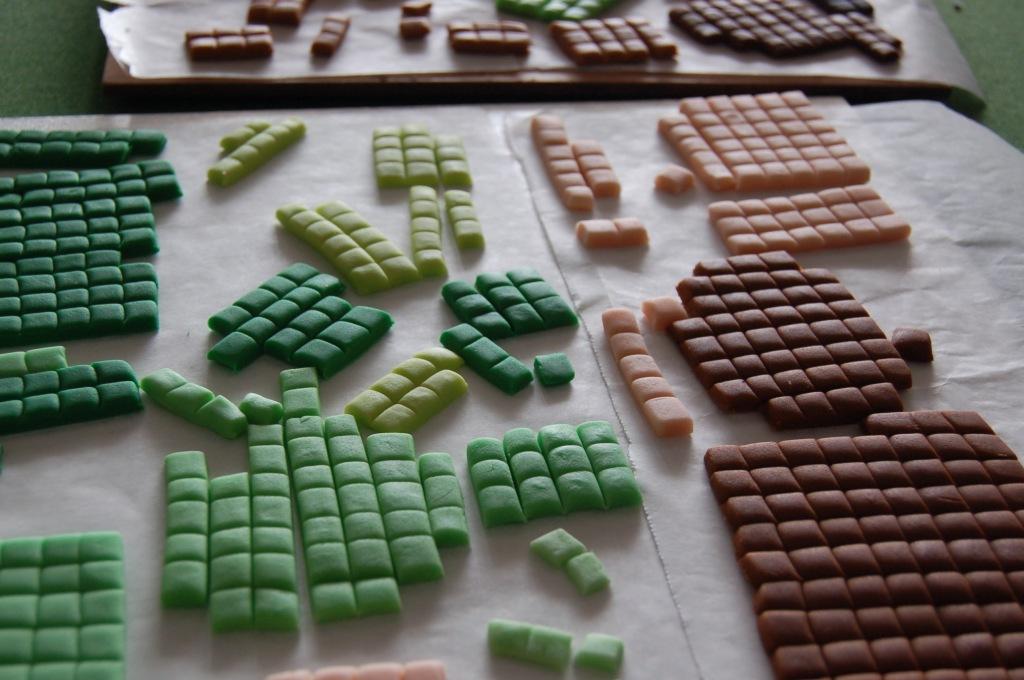 Minecraft squares