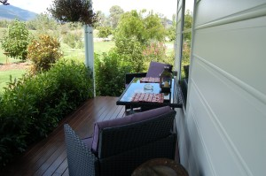 Deck outside 1