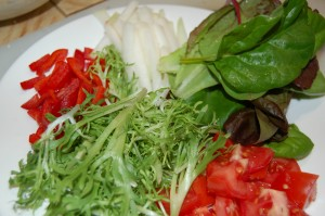Salad for Souvlaki