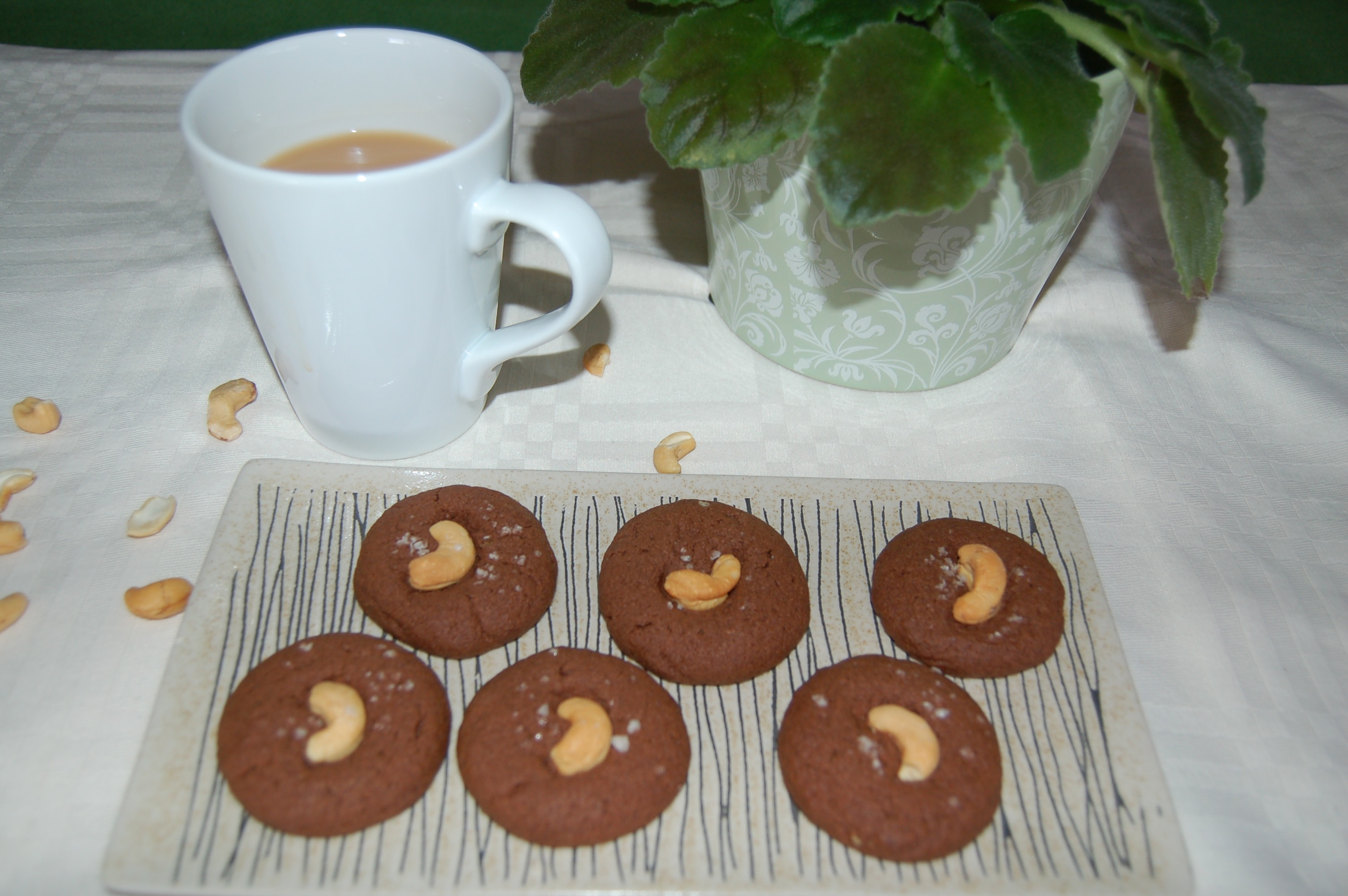 Not So Sweet Chocolate Spelt Biscuits
