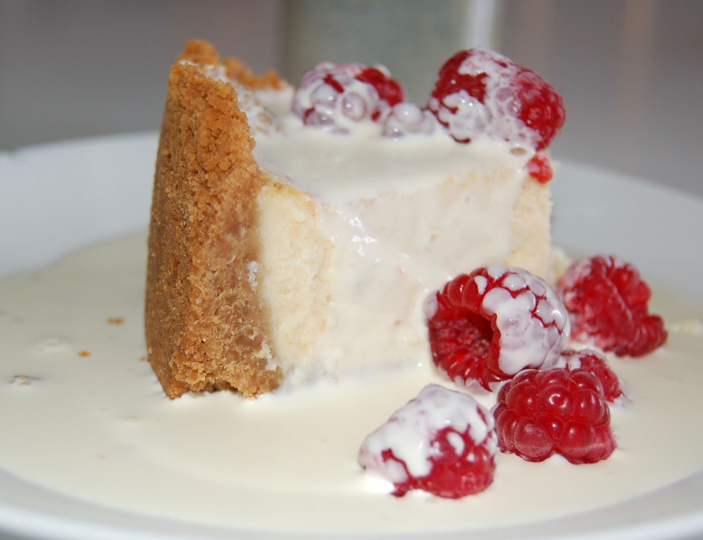 Coconut And Sour Cream Cheesecake