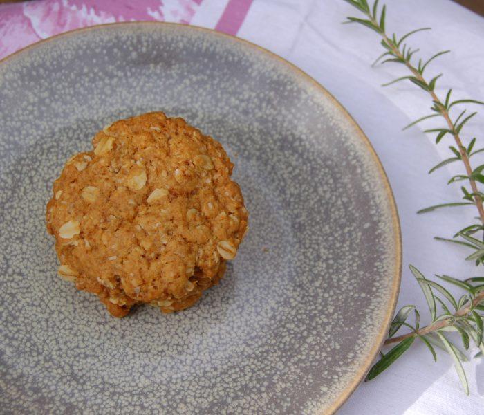 Anzac Cookie – Healthier Alternative